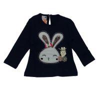بلوز دخترانه خرگوش پیشتاز سرمه ای
