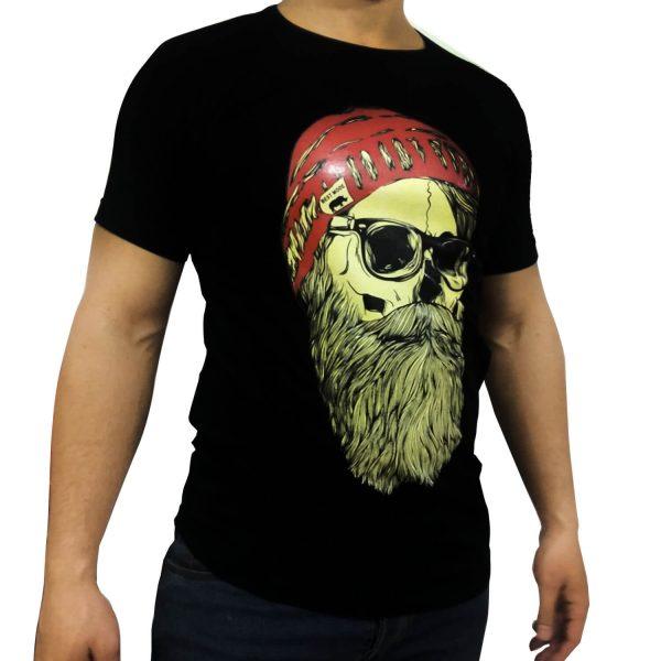 تی شرت مردانه ریش کلاه دارI.F.C