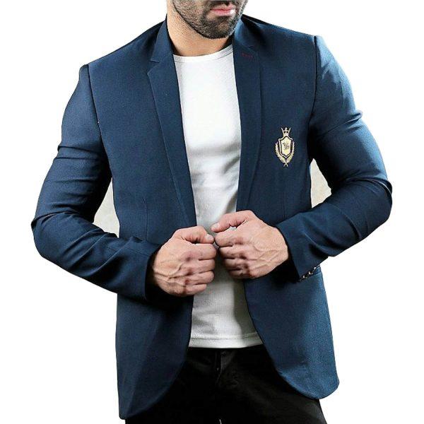 کت تک مردانه LV سرمه ای