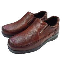کفش طبی مردانه قهوه ای1