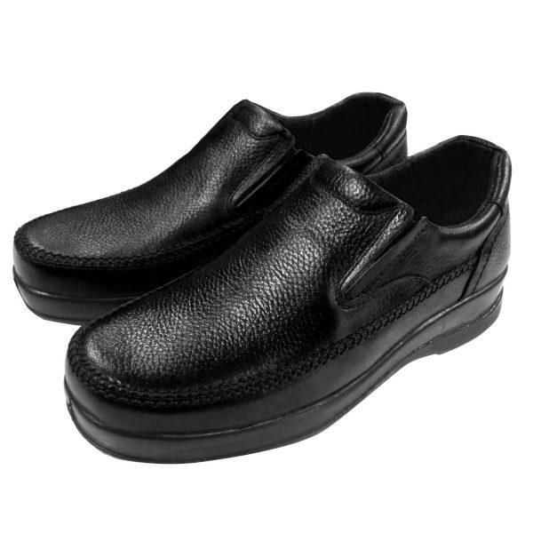 کفش طبی مردانه مشکی1