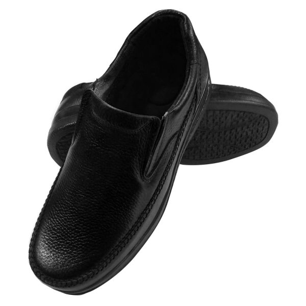 کفش طبی مردانه مشکی2