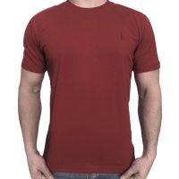 تی شرت مردانه ساده زرشکی ابرکرومبی