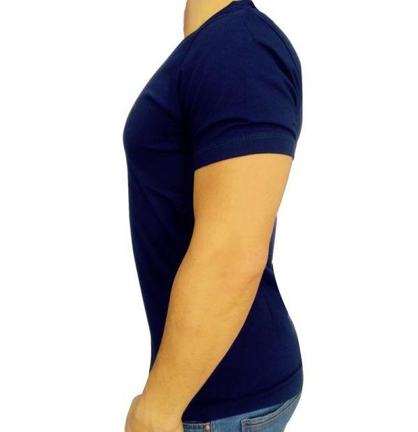 تی شرت مردانه ساده سرمه ای ابرکرومبی1