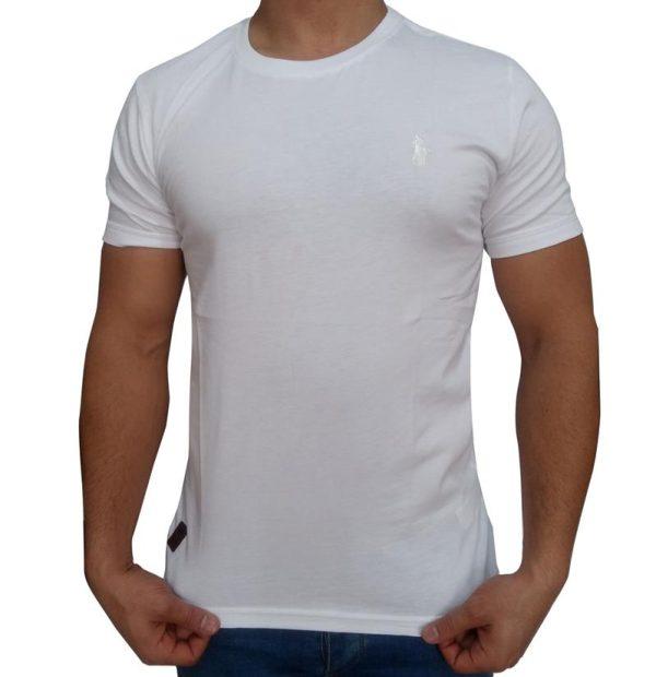 تی شرت مردانه ساده سفید ابرکرومبی
