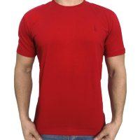 تی شرت مردانه ساده قرمز ابرکرومبی