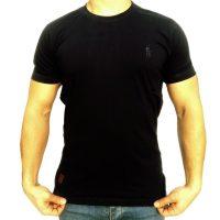 تی شرت مردانه ساده مشکی ابرکرومبی