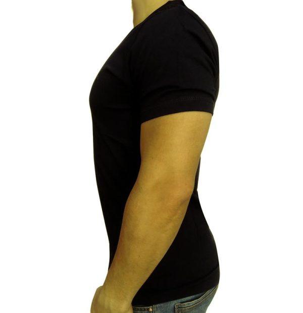تی شرت مردانه ساده مشکی ابرکرومبی1