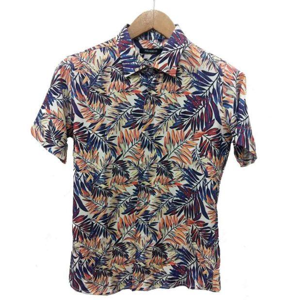 پیراهن طرحدار مردانه - پیراهن هاوایی2