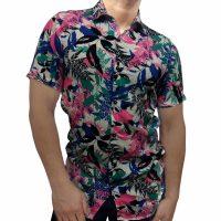پیراهن گلدار مردانه - پیراهن هاوایی