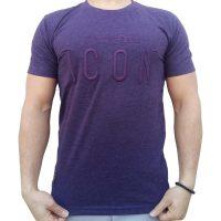 تی شرت مردانه بنفش LALEX ICON