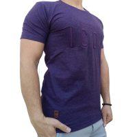 تی شرت مردانه بنفش LALEX ICON1