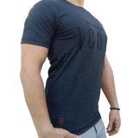 تی شرت مردانه خاکستری LALEX ICON1