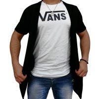 تی شرت مردانه شنل دار + گردن بند