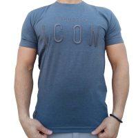 تی شرت مردانه طوسی LALEX ICON