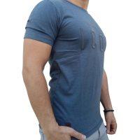 تی شرت مردانه طوسی LALEX ICON1