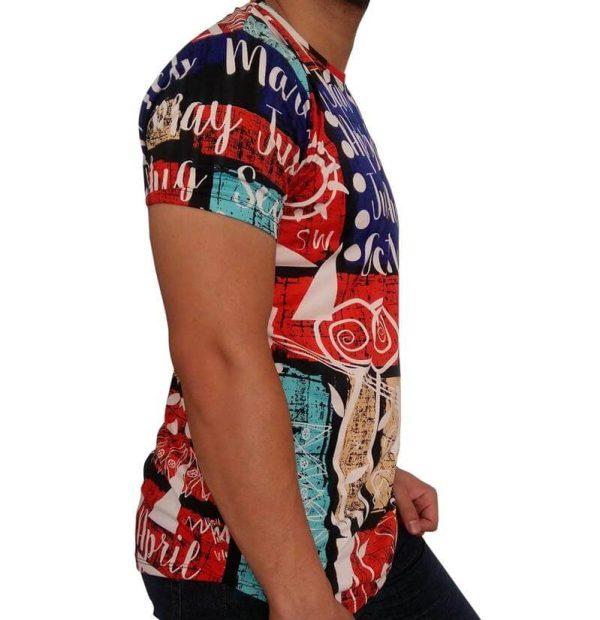 تی شرت مردانه هاوایی PRD قرمز 1