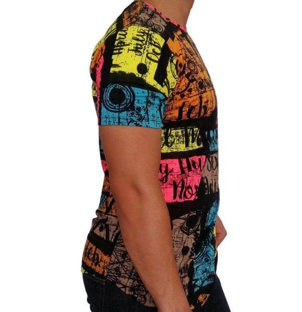 تی شرت مردانه هاوایی PRD نارنجی 1