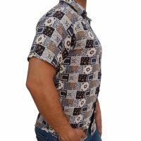 پیراهن هاوایی مردانه CS