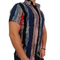 پیراهن هاوایی مردانه راه دار 1