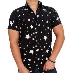 پیراهن هاوایی مردانه ستاره