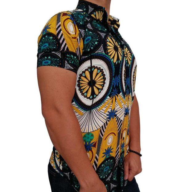 پیراهن هاوایی مردانه سنتی 1