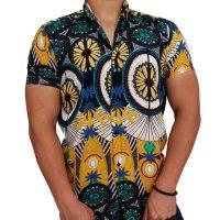 پیراهن هاوایی مردانه سنتی
