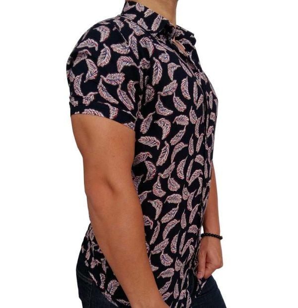 پیراهن هاوایی مردانه پر 1