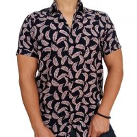 پیراهن هاوایی مردانه پر