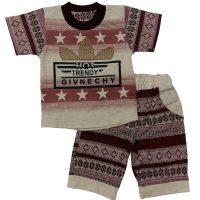 تی شرت و شلوارک پسرانه سنتی آدیداس بیبی شیک