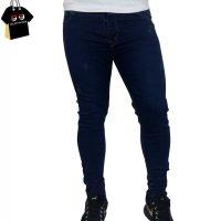 شلوار جین مردانه آبی تیره کد 6