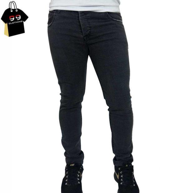 شلوار جین مردانه خاکستری کد 8