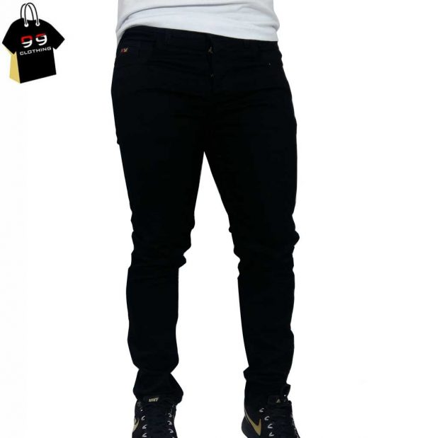 شلوار جین مردانه مشکی کد 10