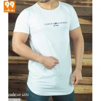 تی شرت مردانه لش سفید