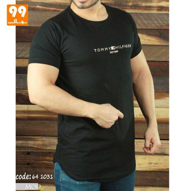 تی شرت مردانه لش مشکی
