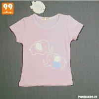 تیشرت دخترانه سوسنی فیل