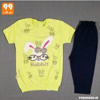 تی شرت ساپورت بچه گانه خرگوش بانینو سبز