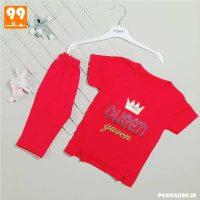 تی شرت و ساپورت دخترانه GUEEN قرمز