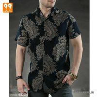 پیراهن هاوایی مردانه طرح جقه کد ۲۵51