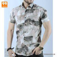 پیراهن هاوایی مردانه طرح منظره