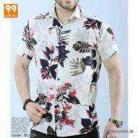 پیراهن هاوایی مردانه طرح 2547