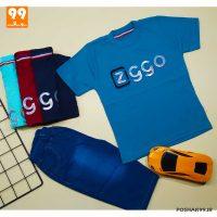 ست تیشرت شلوارک پسرانه ZIGGO کد 5007