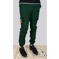 شلوار اسلش شش جیب مردانه OFF-WHITE سبز کد 1970