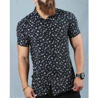 پیراهن هاوایی مردانه چاپ دیور
