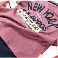 تیشرت شلوارک پسرانه نیویورک زوم کد 5957